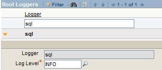 Root Logger - SQL