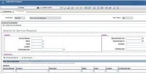 Service Request - Application Designer