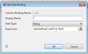 Data bind expression